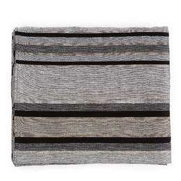 Pisa Design - Tablecloth 320 light, 30L stripe grey style