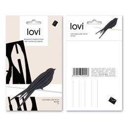 Lovi Swallow 10cm, black