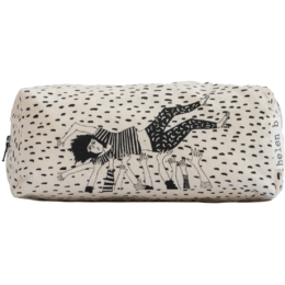 helen b - pencil pouch crowdsurfing girl