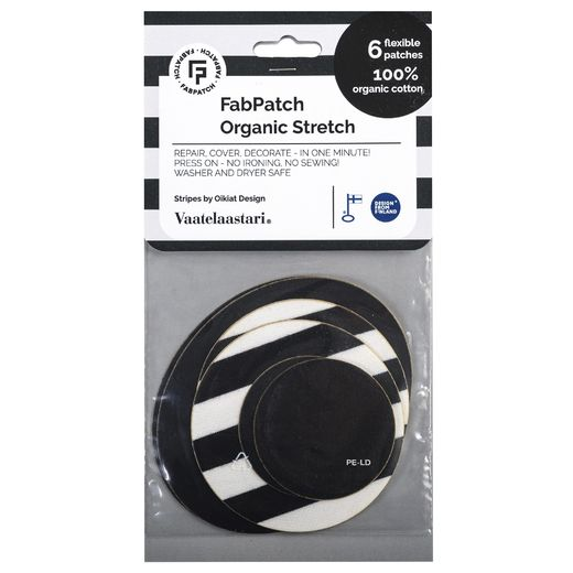 FabPatch Organic Stretch Stripes