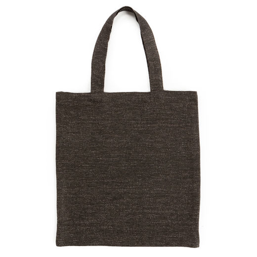 Tote bag 180s melange brown