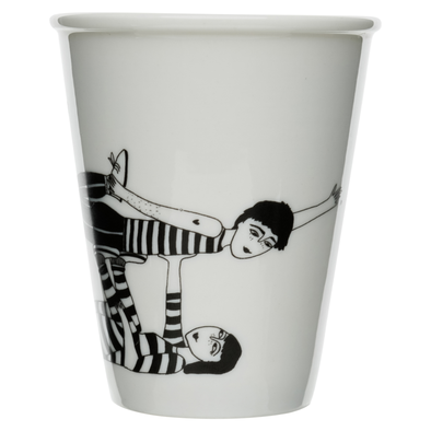 helen b - mug  flying couple