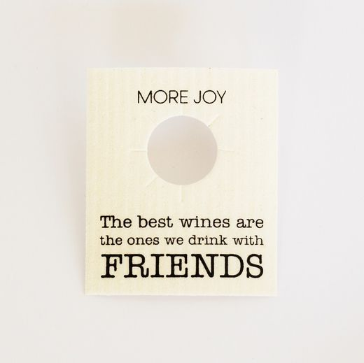 More Joy - Card for a bottle/Friends