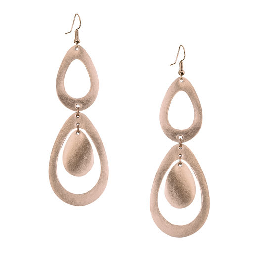 Viaminnet - SADE waterfall petite Earrings, rosegold