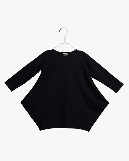 PAPU KANTO DRESS, kid Black