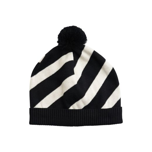 Papu KNIT STRIPE POM POM BEANIE for kids!