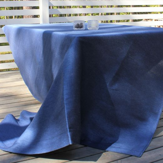 Tablecloth 155x270 006s ocean blue