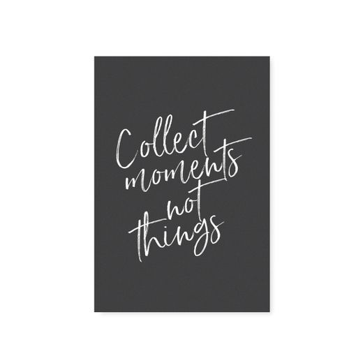 "Card ""Collect moments"""