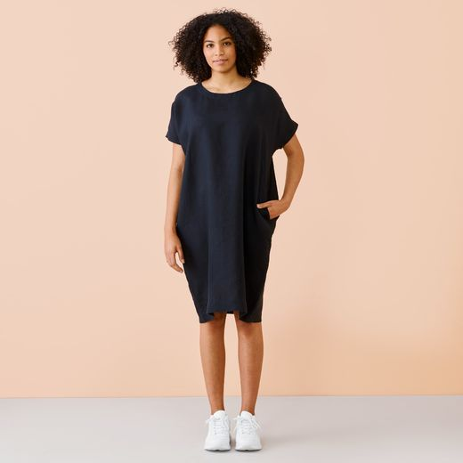 Papu LINEN DRESS Black, Women