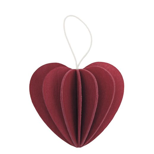 Lovi Heart, dark red
