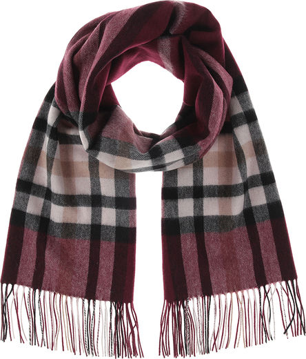 Vega wool scarf, wine