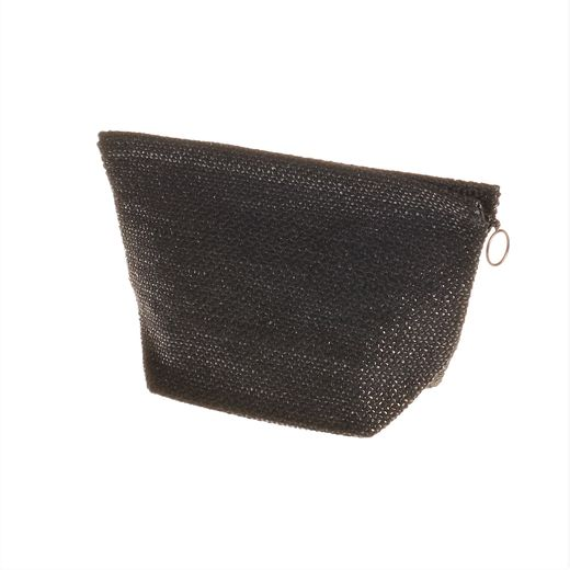 Cosmetic bag small, black