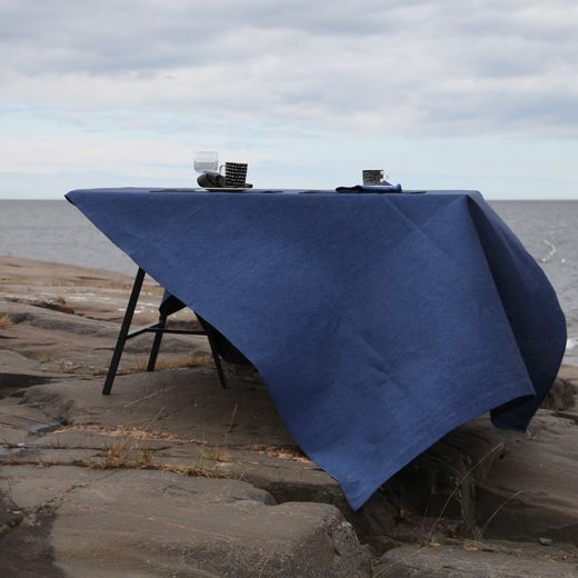Tablecloth 155x230 006s ocean blue