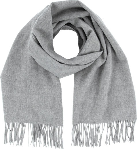 Kuura wool scarf, light grey